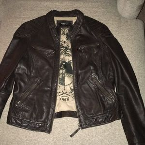 Oakwood Leather Moto Jacket Size L